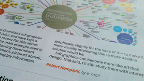robert hempsall letter to design week about infographics
